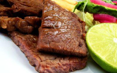 Spicy Steak Strips